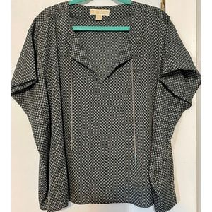 Michael Kors Tunic Top with Chain Detail
